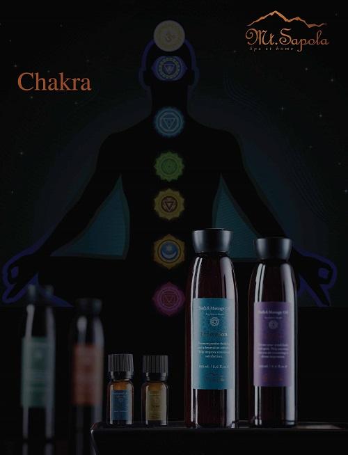 Chakra Bath & Massage Oils