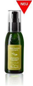 Mt.Sapola Handreinigungsgel Zitronengras, Hand Sanitizer Gel Lemongrass 65ml