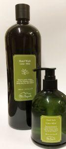 Mt.Sapola Hand Wash Lime Mint und 1 L Nachfüllgröße