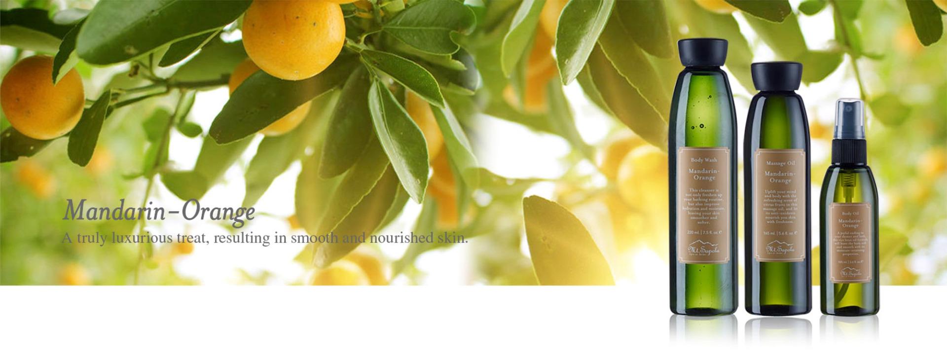 Body Spa Mandarin-Orange